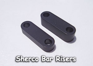 Sherco Bar Mounts risers