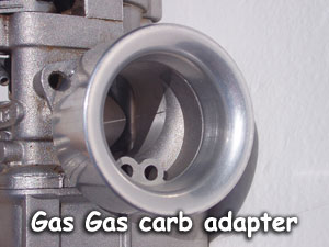 Gas Gas carb adapter